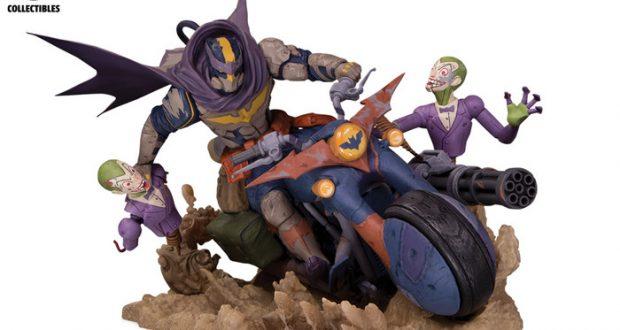 DC Engines of Chaos Batman statue